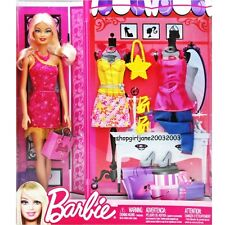 Barbie Doll platinum blonde - with 2 extra outfits & accessories - BNIB X4861