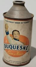Vintage Original Duquesne Dukane Can-O-Beer Cone Top Pittsburgh Rare