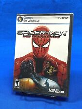 *SEALED* Spider-Man Spiderman : Web of Shadows (PC, 2008) Video Computer Game