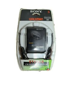 Sony Walkman WM-EX102 Black Cassette Player with Mega Bass New In Sealed Package