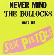 Sex Pistols Never Mind The Bollocks CD NEW SEALED Punk God Save The Queen/EMI+