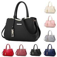 Fashion Women Pu Leather Tote Handbag Shoulder Crossbody Hobo Messenger Bag New