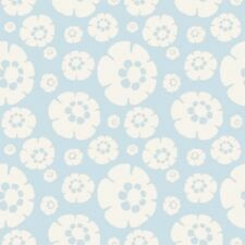 1YD Fresh Aire SAND DOLLAR FLOWER SHELL Baby Blue BJ Lantz Studio E Fabric