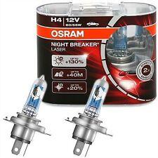 2 AMPOULES H4 +130% OSRAM NIGHT BREAKER LASER SUZUKI VITARA Cabrio