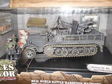 1/32 FORCES OF VALOR WWII GERMAN SD KFZ 7/1MIT 2CM FLAKVIERLING 38 ANTI AIR GUN