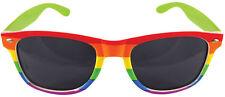 Regenbogen Sonnenbrille NEU - Zubehör Accessoire Karneval Fasching