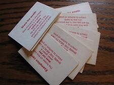 1979 Life Replacement 21 Cards      Lot# LV GA12