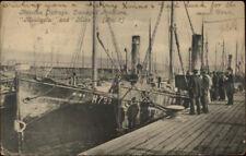 Russian English Conflict Damaged Fishing Trawler Boats Moulmein & Mino c1904
