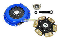 FX 6-PUCK STAGE 3 CLUTCH KIT FOR 2000-2005 TOYOTA ECHO / 06-12 YARIS 1.5L 4CYL
