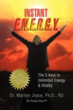 Instant E.N.E.R.G.Y.T by Marilyn Joyce Paperback Book (English) Free Shipping