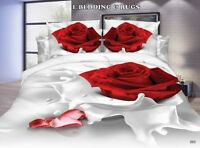 3D Effect Bedding Complete Set(263)With Duvet Cover,Pillow Cases & Fitted Sheet