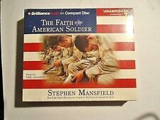 The Faith of the American Soldier by Stephen Mansfield (2005, CD, Unabridged)NEW
