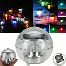 LED Light Solar Power Swimming pool Automatical Color-changing Floating Ball USA