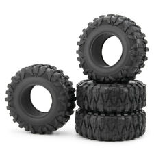 "4Pcs 120mm OD Rubber Tires Tyres for 2.2"" wheel Rims Wraith D90 1/10 RC Crawler"