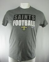 New Orleans Men's 47 Brand NFL Short Sleeve T-Shirt Gray S L XL XXL