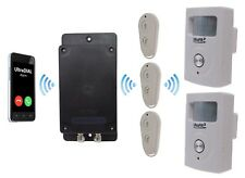 Covert Battery Powered Silent 3G GSM UltraDIAL Alarm supplied with 2 x UltraPIR
