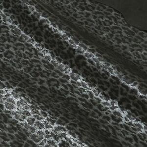Ziegenleder Leopard Design 0,9 mm Dick Velour Lederhaut Leather N159-10-11