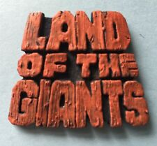 Land of the Giants Nameplate