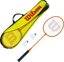 Wilson 2 Player Badminton Set - 2 Alloy Rackets Shuttlecocks & Carry Bag