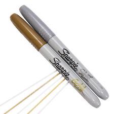 4 X Sharpie metallic gold & silver Fine Marqueur Permanent Stylos Carte Décoration