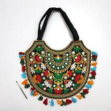 Indian Handmade Ethnic Designer Bohemian Multi Purpose Boho Banjara Shopping Bag