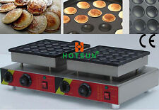 Commercial Non-stick 50pc110v 220v Electric Dutch Mini Pancakes Poffertjes Maker