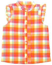 Vêtements à motif Carreaux sans manches pour fille de 2 à 16 ans
