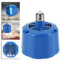 Cultivation Heating Lamp Thermostat Fan Heater Fit Chicken Pig's Egg Incubator