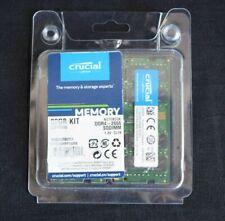 New listing Crucial 32Gb Kit (16Gbx2) Ddr4 2666 Mt/s (Pc4-21300) Dr x8 Sodimm 260-Pin Memory