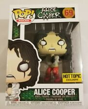 ALICE COOPER Funko Pop Rocks #69 Hot Topic Exclusive