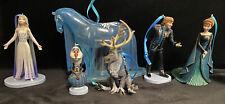 NEW Disney Frozen 2 Christmas Ornament set Elsa, Anna, Nokk, Sven Kristoff Olaf