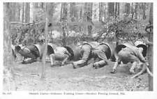 Aberdeen Proving Ground Maryland Ordnance Training Obstacles Postcard K90173