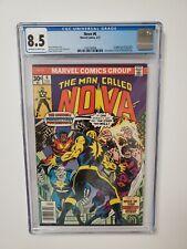 Nova #6 CGC 8.5 1st App Sphinx & Megaman Marvel Comics Nova Movie Key Hot MCU