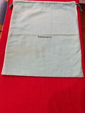 "Authentic  Tiffany & Co. Flannel Storage Bag. New 14"" X 12"""