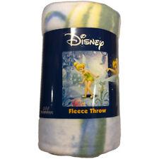 "Tinker Bell Fairy Spell Fleece Throw Blanket 50"" x 60"""