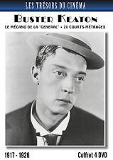 Coffret 4 DVD Buster Keaton : Le Mécano de la General + 20 courts-métrages