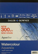 Daler Rowney Aquafine Watercolour Pad A4 Size 300GSM 12 Sheets