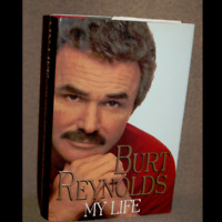 MY LIFE by Burt Reynolds a Hardcover Autobiography book FREE USA SHIPPING
