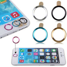 Metal Botón Home Anillo Círculo cubierta Sticker Skin Para Apple Iphone 5s 6 6plus Hot
