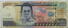 Philippines 2011 500 Peso AY 649294