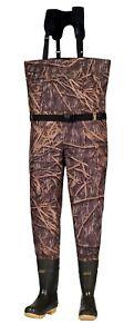 KOBUK Men's Shadow Grass Premium Breathable Hunting Wader Lug Boots 600G Regular