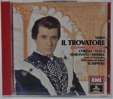 VERDI : IL TROVATORE HIGHLIGHTS THOMAS SCHIPPERS CD EMI W.GERMANY SONOPRESS