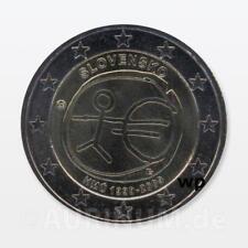 2 EURO SLOVACCHIA 2009 10 anni EWU EMU