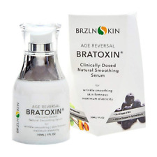 Bratoxin Instant Naturally Derived Hydrating Wrinkle Serum Face Anti Aging