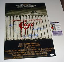 Cujo Cast Signed 12X18 Poster Signed Autographed Pintauro Wallace Kelly JSA CERT