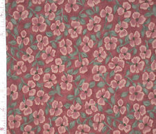 1YD Rural Yesterday DOGWOOD BLOSSOMS Dusty Mauve Pink RJR Quilting Sewing Fabric