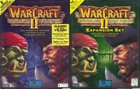 WARCRAFT II TIDES OF DARKNESS + DARK PORTAL & MAP EDITOR Windows 10 8 7 Vista XP