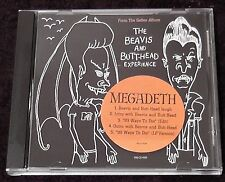 Megadeth 99 Ways To Die / Beavis And Butthead Experience Rare Promo CD OOP Mint