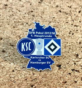 Pin Karlsruher SC vs Hamburger SV HSV DFB Pokal 2012/13