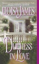 Duchess in Love: Duchess in Love 1 by Eloisa James Paperback Historical Romance